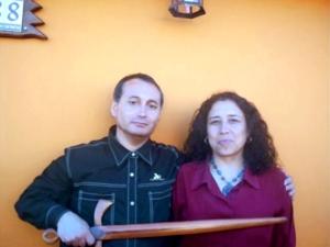 Adolfo Vasquez Rocca y Rosi Lopez